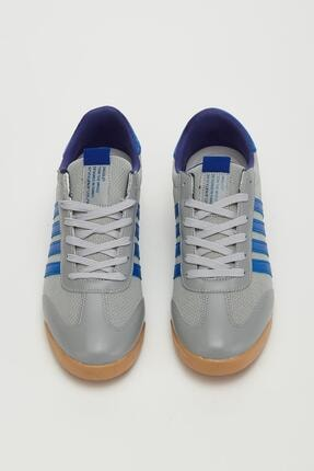 Muggo Erkek Füme Bağcıklı Sneaker Mgbarney02 1