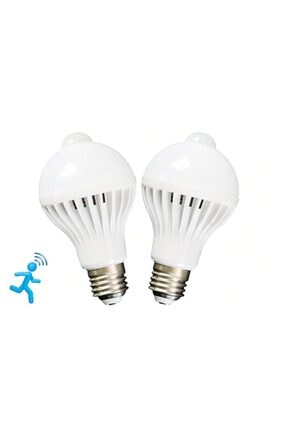 ALKILIÇ Led Hareket Sensörlü 9w Beyaz Işık Ampul Alk-9wsensörlüampul 1