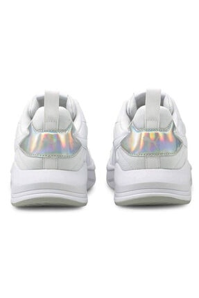 Puma X-RAY LITE METALLIC WMN Beyaz Kadın Sneaker Ayakkabı 101085449 4