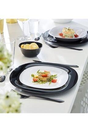 Luminarc Carine Blanc 6'lı Beyaz Pasta Tabağı 2
