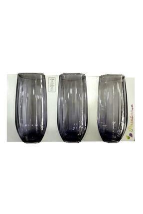 Paşabahçe 3'lü Lınka Mor Meşrubat Bardağı 420415 3