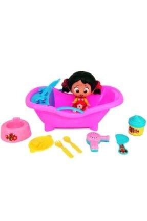 Oyuncak Niloya Banyo Vakti Kız Bebek Oyuncak Seti Aksesuarlı 20595698