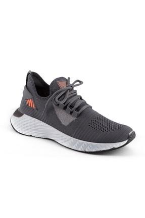 AKX 7 132 Füme Beyaz Hava Akışlı Erkek Spor Ayakkabı 0