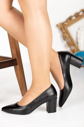 Klasik Topuklu Büyük Numara Ayakkabı 10190