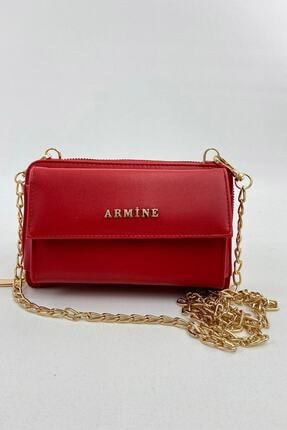 Armine El Çantası 21yd7014-06 Kırmızı 3