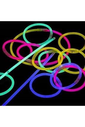 dnzstores Glow Stick Fosforlu Kırılan  Eğlence Çubuk 20 cm100 Adet 0