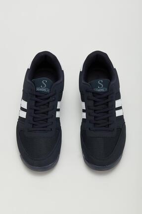 Muggo Erkek Lacivert Sneaker Ayakkabı Mgpalermo02 1