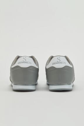 Muggo Erkek Gri Sneaker Ayakkabı Mgpalermo02 2