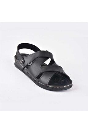 Siyah Rahat Günlük Kadın Sandalet HOTİÇ KADIN SANDALET