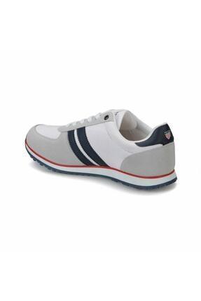 US Polo Assn U.s Polo Assn. Plus Beyaz Erkek Spor Ayakkabı 100248390 1