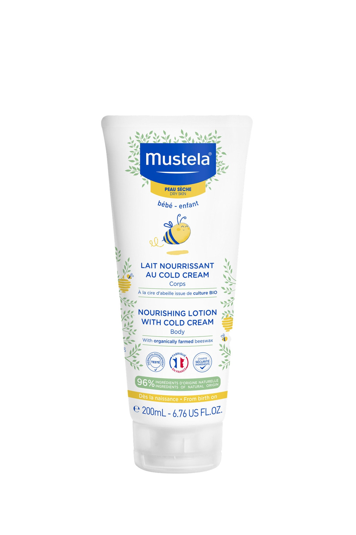 Body Lotion With Cold Cream 200ml