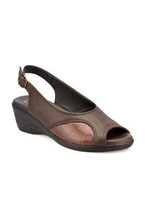 Polaris 103070.Z Kahverengi Kadın Sandalet 100508674 0