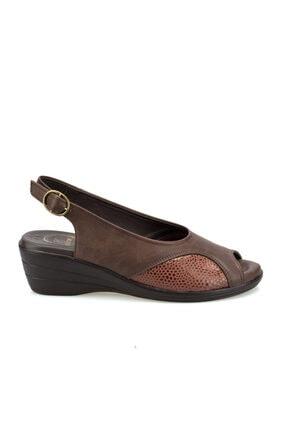 Polaris 103070.Z Kahverengi Kadın Sandalet 100508674 1