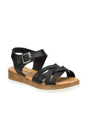 Polaris 315724.Z Siyah Kadın Sandalet 100508415 0