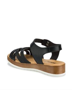 Polaris 315724.Z Siyah Kadın Sandalet 100508415 2