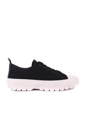 - Siyah Kadın Günlük Ayakkabı resmi