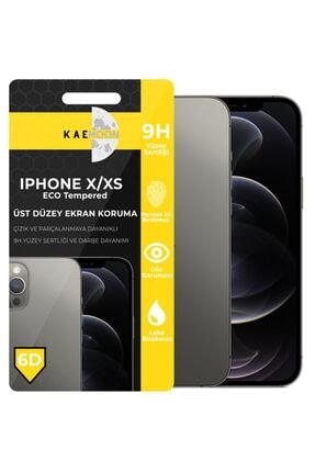 KaeMoon Iphone X/xs/11pro Uyumlu Tam Kaplayan Ekran Koruyucu Hd Netlikte Temperli Ekran Koruyucu 0