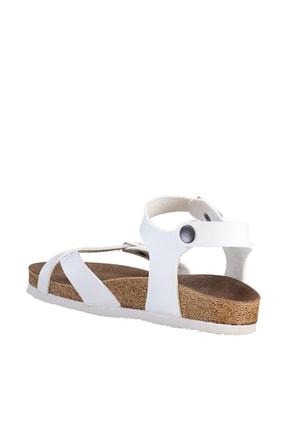 Soho Exclusive Beyaz Kadın Sandalet 15922 4