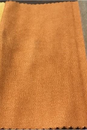 Perle Home Daily Series Mandalina Rengi Fon Perde 150x260 cm 1