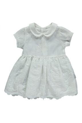 Bebetto Kız Bebek Bej Elbise Set 2li 1