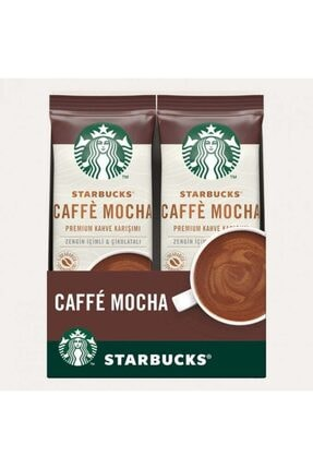 Starbucks Caffe Mocha Premium Kahve Karışımı 22 Gr X 10 Paket 0