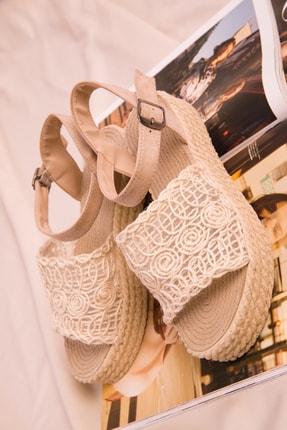 Soho Exclusive Bej Kadın Sandalet 15994 2