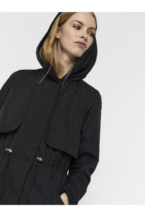 Vero Moda Kadın Kapüşonlu Beli Büzgülü Mevsimlik Mont 10243506 Vmgladıs 3