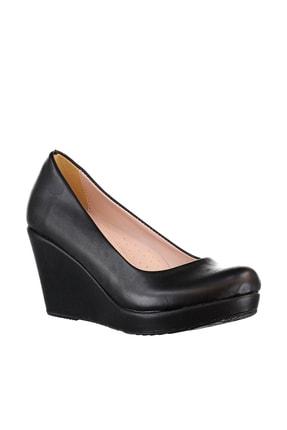 Soho Exclusive Siyah Kadın Dolgu Topuklu Ayakkabı 15849 4