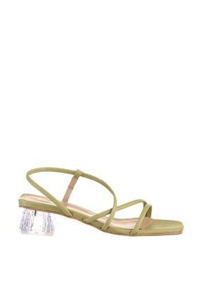 Soho Exclusive Yeşil Kadın Klasik Topuklu Ayakkabı 15822 3