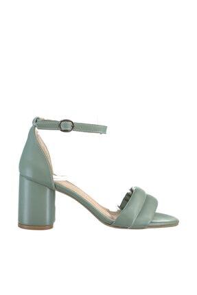Soho Exclusive Mınt Yeşil Kadın Klasik Topuklu Ayakkabı 15808 4
