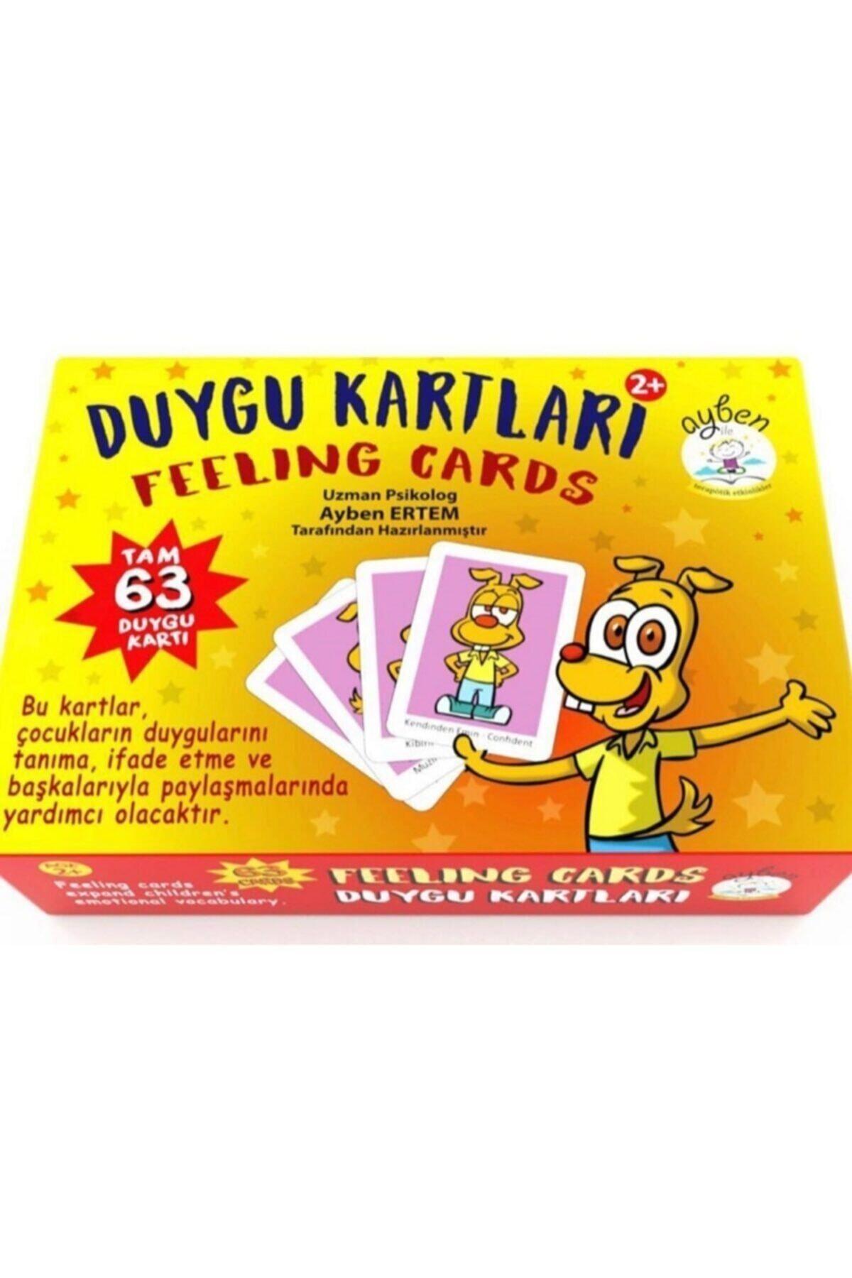 Duygu Kartları Eğitici Oyun Seti