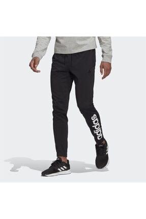 adidas Erkek Siyah Logo Baskılı Eşofman Altı 0
