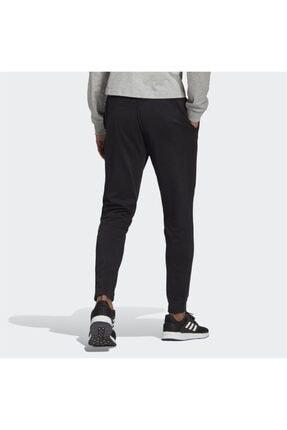 adidas Erkek Siyah Logo Baskılı Eşofman Altı 1