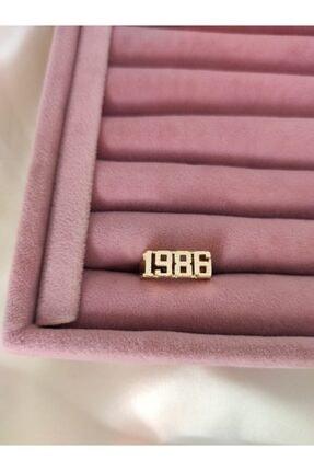 beige accessory 1986 Tarihli Yüzük Gold Rengi Ayarlanabilir Beden 0