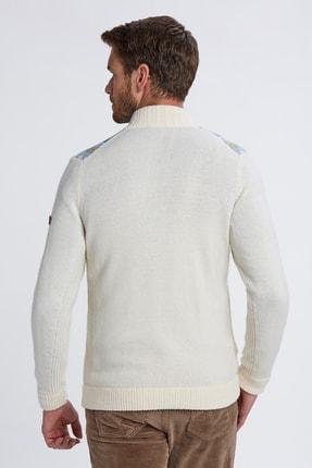 Hemington Erkek Beyaz Hırka 2