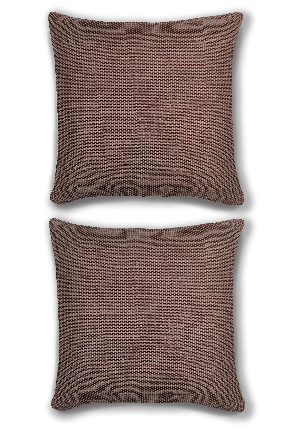 2'li Yastık Kırlent Kılıfı Kombini Premium Yumuşak Kumaş 45x45
