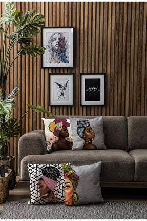Ottoson Home Premium Dekoratif 4lü Kırlent Kılıfı 2
