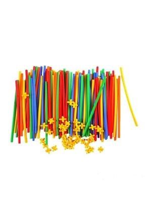 Zekice Eğlenceli Bambu Çubuklar 300 Parça Kutulu 1
