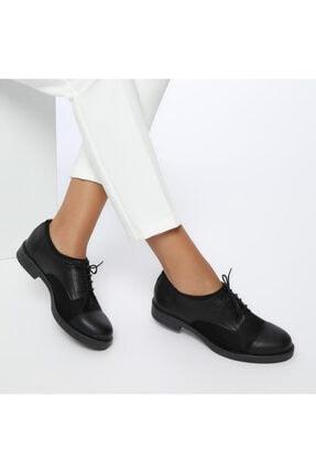 Missf Ds17037-19s Siyah Kadın Topuklu Ayakkabı 100352223 0