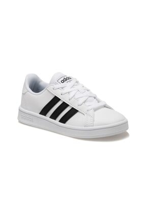 adidas Grand Court Beyaz Unisex Çocuk Sneaker 0
