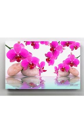 hanhomeart Aslan Ağzı Çiçek Kanvas Tablo 60x120 cm 1