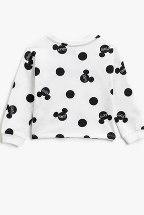 Koton Siyah Desenli Kız Çocuk Sweatshirt 1