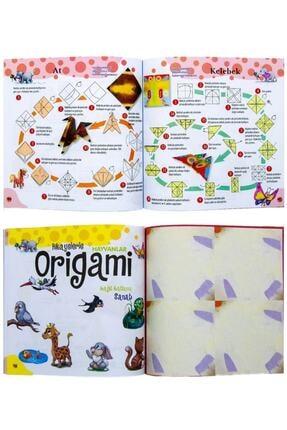 Karton Bardak Hikayelerle Origami Kağıt Katlama Sanatı 4 Lü Set 1