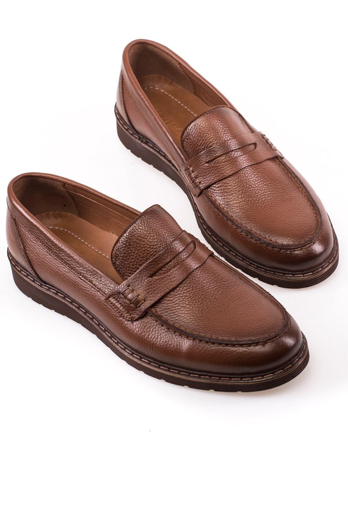 Erkek Deri 5 Renk Loafer Ayakkabı