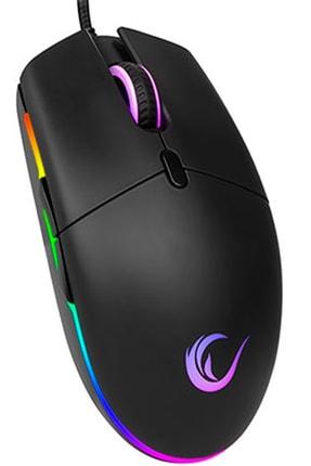 Rampage Smx-r63 Glory Rgb Işıklı 6400dpi Gaming Oyuncu Mouse 2