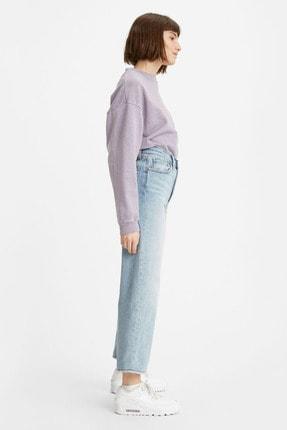Levi's Kadın Açık Mavi Yüksek Bel Ribcage Straight Jean 1
