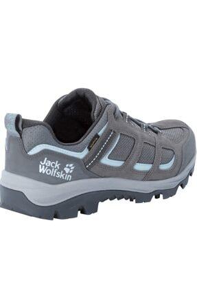 Jack Wolfskin Kadın Vojo 3 Texapore Low W Gri Ayakkabı 4042451 1