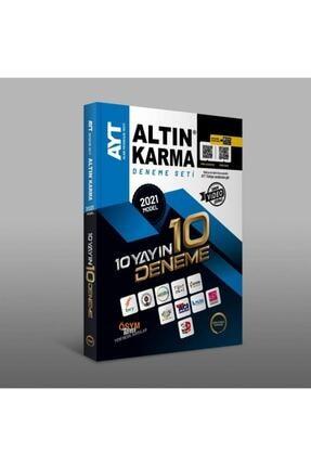 Altın Karma Yayınları Altın Karma 2021 Ayt 10 Farklı Yayın 10 Deneme Seti 1