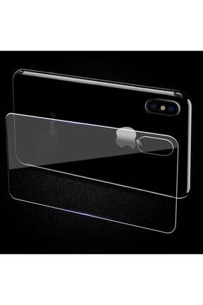 TeknoDuvar Iphone Xs Max Ön Ve Arka Kırılmaz Standart Koruyucu Temperli Cam 4