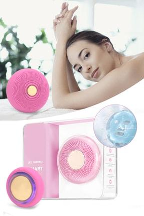 Xolo Smart Mask Ultrasonik Maske Uygulama Cihazı Işık Terapi Titreşimli Pembe Peeling Masaj Cihazı 0